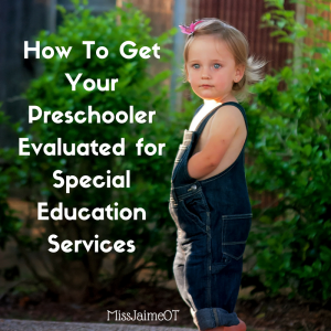 special education, CSE, special ed, testing, preschool, getting your child evaluated