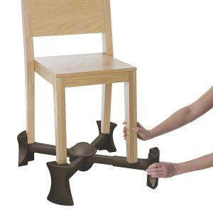 under chair booster