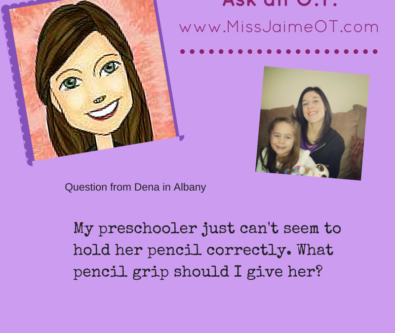 Miss Jaime OT pencil grip