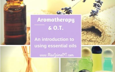 essential oil, aromatherapy, and OT