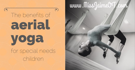 Using Aerial Yoga for Kids with ADHD, ASD, and everything else!