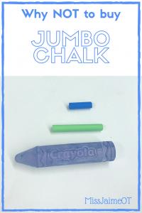 crayons, jumbo crayons, grasping, fine motor skills