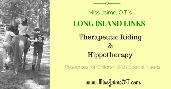 Long Island Links: Therapeutic Horseback Riding and Hippotherapy