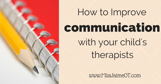 How to Improve Communication From Your Kid's School Therapist