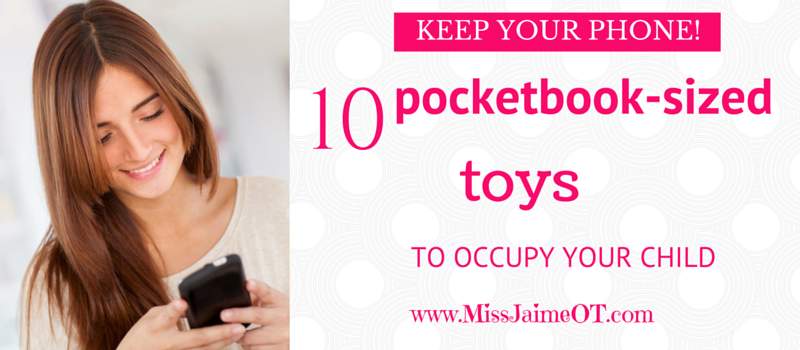 10 pocketbook-sized toys to occupy your kid (instead of your phone!)