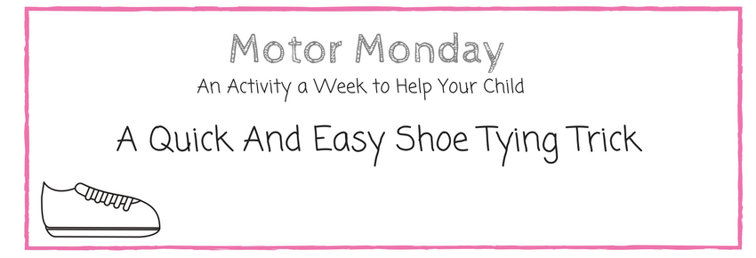A Quick & Easy Shoe-Tying Trick