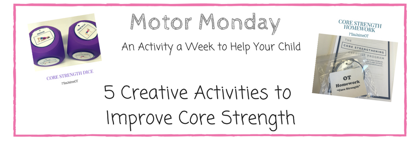 5 Creative Core Strength Activities