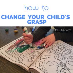 grasping, fisted grasp, tripod grasp, preschool, coloring