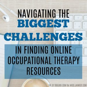 school-based Occupational Therapy