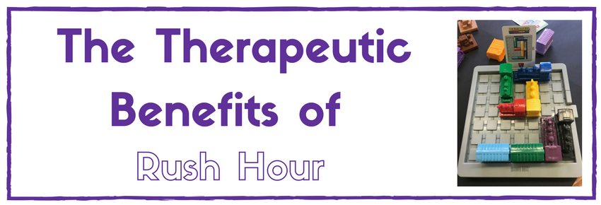 """The Therapeutic Benefits of """"Rush-Hour"""" Game"""
