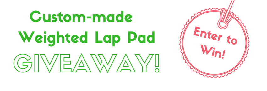 Weighted Lap Pad Giveaway!