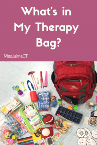 occupational therapy, therapy supplies, pediatric therapy, school-based therapy, missjaimeot
