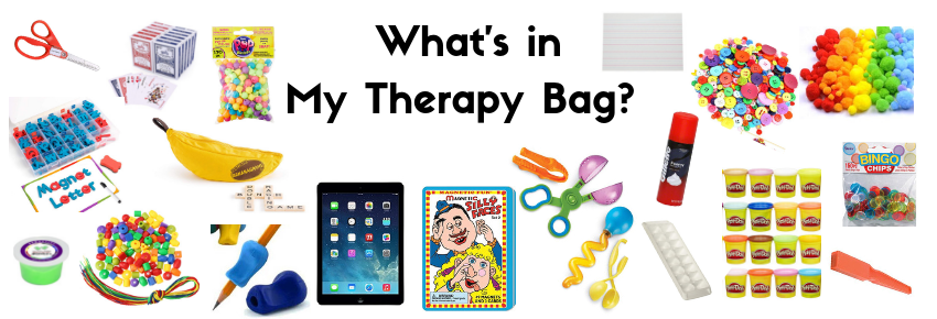 What's in my Therapy Bag?