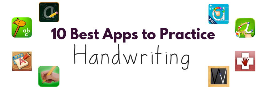Ten Best Apps for Handwriting with Kids