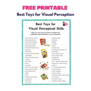 visual perceptual toys, best visual perceptual games, visual perceptual activities, visual spatial games